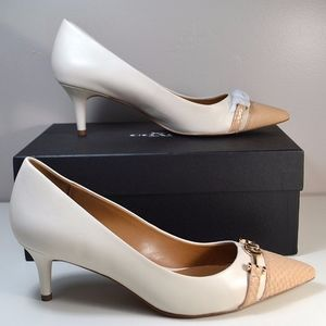 caff20b3accd Coach Shoes - COACH Chalk   Beechwood Lauri Pointed Toe Pumps